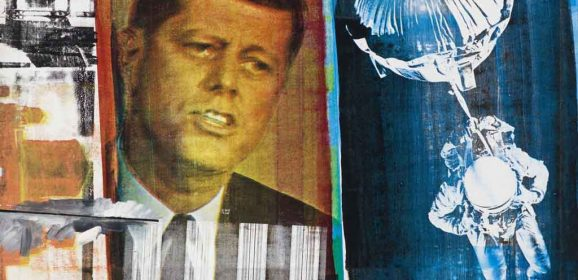 Rauschenberg at Tate Modern:  A pointer to changing America